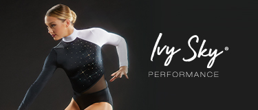 Ivy Sky Performance - Shop CRYSTAL POET SLEEVE LEOTARD
