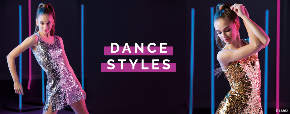 Dance Styles - Shop Sequin Metallic CropTop