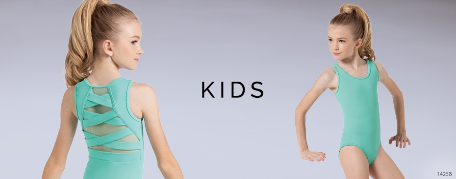 Kids and Girls Dancewear- Shop Flocked Cherry Blossom Leotard