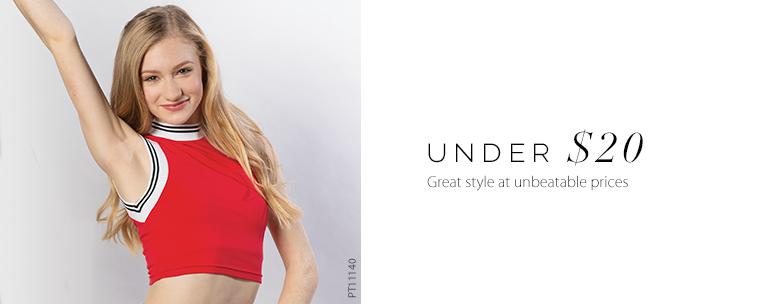 27251b29d Dancewear Under $20 | Dancewear Solutions®