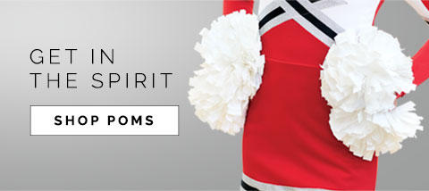 Shop Poms for Dance Team