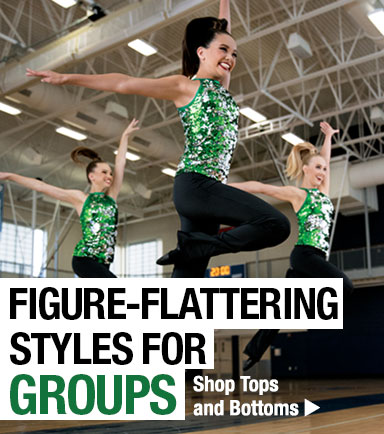 Figure-flattering styles for groups
