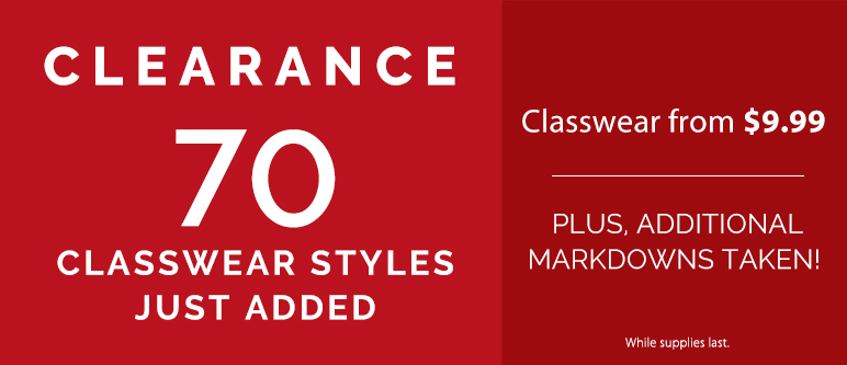 Shop Clearance Classwear Gymnastics Added