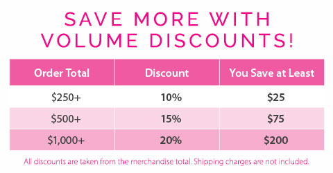 Save up to 20% with Volume Discounts