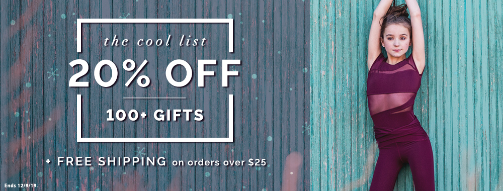 20% OFF on 100 Gifts + Free Shipping on order of 25+